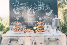 Coffee Bar / Everyone needs a coffee bar at their wedding! Take a peek at some fun inspiration!