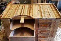 Stuff We've Done With Wood / A collection of some of our favourite woodworking projects so far.