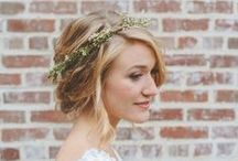 Wedding Hair Styles / Want that perfect Pinterest wedding hair?! Well you came to the right board! Get some fun hair inspiration for your special day!