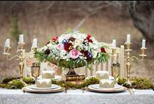 Tabelscapes / Getting that beautiful wedding tablescape will make your wedding come alive!