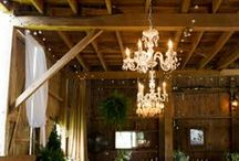 Wedding Lights / Cafe Lights, Chandeliers and more will add that extra sparkle to your wedding.