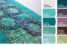 pretty color palettes / by Amy Jacobus Stiles