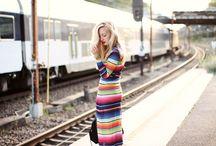 Style: Stripes / #fashion #stripes / by Lottie Smith