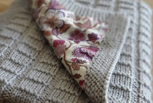 DIY: Clothes & Fabric / Neat ideas for creating your own home decor & clothing. / by Leticia Little