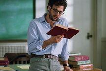 Handsome Bookworms / hot guys