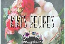 Kiki's Recipes / Recipes for cake, cookies, frosting, pie, ice cream, brownies, bars, drinks, desserts and more