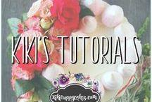 Kiki's Tutorials / Tutorials for baking, cake decorating, cookie decorating, dessert making, entertaining, and more