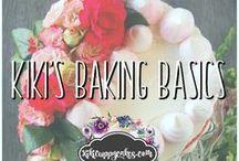 Kiki's Basics of Baking / Basics of baking, tips, tricks, recipes to know from Kikicuppycakes.com