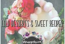 Cold Desserts & Sweet Recipes / Recipes for cold desserts, ice cream, pies, cream puffs, iced coffees, ice box cakes, milk shakes, drinks and more