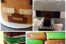 Minecraft Party Ideas / All things Minecraft Party, Minecraft Cakes, Minecraft Party Games, Minecraft Party Food, Minecraft Party Decorations, Minecraft Party Favors, Minecraft Birthday Parties