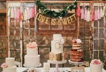 Wedding Cakes / When it's your wedding, you can have your cake and eat it too! Check out these delicious wedding cakes as seen on MODwedding to be inspired for your (almost too pretty to eat) wedding cake! / by MODwedding