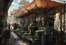 Games /  #Concept Art #Designs that inspire #videogame + Digital paintings of nurnpm