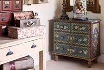 Vintage Floral Style / by Annie Sloan Home