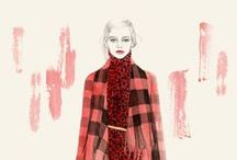 Fashion Illustrated / Fashion Illustrations in full color / by Cross My Hart