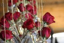 flower arrangements/flores y arreglos