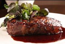 steaks/chicken/seafood/pork/fish