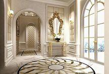 Walls, floors, ceilings