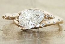 Engagement/Wedding Rings / Every girl's favorite MODwedding Pinterest board! We are stunned by these gorgeous engagement and wedding rings. Pin your favorites to give him a hint!  / by MODwedding