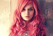 Colorful Hair / Colorful hair.
