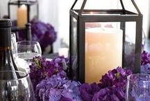 Purple Wedding Ideas / Purple has long been the most regal wedding color on the spectrum. With its deep velvety shades and rich undertones, purple is the color of true luxury and style.  / by MODwedding