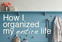 Tidy/Organized