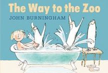 Getting to Know John Burningham / John Burningham is one of the world's foremost and distinguished picture book makers. With a career spanning over fifty years, he has created some of the nation's most treasured picture books and continues to capture our imaginations with his enchanting stories and distinctive, expressive artwork. John's newest picture book, The Way to the Zoo, is wicked, wild and wonderful! (what else?) We'll be publishing it on the 4th of April: http://www.walker.co.uk/The-Way-to-the-Zoo-9781406348408.aspx