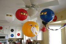 Ninjago party / #Birthday Fun Visit me at http://www.renaissancemama.com!