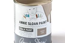 French Linen / Inspiration using Chalk Paint® furniture paint by Annie Sloan in French Linen.  French Linen is a cool neutral khaki grey in the Chalk Paint® palette, inspired by the colour of aged natural linen. This khaki grey works beautifully with golds and a range of rich and bright colours such as Emile and Emperor's Silk.