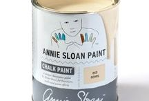 Old Ochre / Inspiration using Chalk Paint® furniture paint by Annie Sloan in Old Ochre.  Old Ochre is a soft warm neutral in the Chalk Paint® palette, the faded darkened cream colour seen on old French painted furniture, woodwork and door exteriors. Apply Dark Chalk Paint® Wax to make the colour more intense and evocative of Paris, or keep it clean as a neutral foil to other colours.