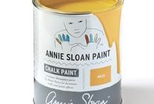 Arles / Inspiration using Chalk Paint® furniture paint by Annie Sloan in Arles.  Arles is a rich, glowing yellow in the Chalk Paint® palette. This rich, deep yellow was inspired by the town of Arles in the south of France where a wide range of earthy yellow ochres are dug straight from the ground. It's a natural rustic colour as well as a modern colour.