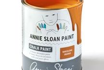 Barcelona Orange / Inspiration using Chalk Paint® furniture paint by Annie Sloan in Barcelona Orange.  Barcelona Orange is a warm and vivacious orange in the Chalk Paint® palette. This vivacious, modern orange is based on the colour used copiously by the Impressionists, in early advertisements and in 1960's decoration. Such a brilliant orange was not available until the early 20th century. With Black Chalk Paint® Wax, it becomes burnt orange the colour of some Chinese lacquer.