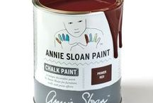 Primer Red / Inspiration using Chalk Paint® furniture paint by Annie Sloan in Primer Red.  Primer Red is a deep, red ochre in the Chalk Paint® palette.