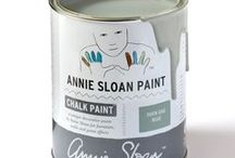Duck Egg Blue / Inspiration using Chalk Paint® furniture paint by Annie Sloan in Duck Egg Blue.  Duck Egg Blue is a greenish soft blue in the Chalk Paint® palette that stems from the first discovery of a good blue pigment in the 18th Century, which was then lightened with white. It can be described as a Rococo blue, as nothing says French and Swedish interiors quite like this colour.