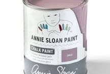 Emile / Inspiration using Chalk Paint® furniture paint by Annie Sloan in Emile.  Emile is PrevNext      PRODUCTS   PAINTS   CHALK PAINT® Emile is a warm soft aubergine colour with pink red undertones giving a rich complexity that makes beautifully sophisticated lilac tones when Old White is added. A colour first used by artists and then later in decorative work, Emile finds its beginnings in bohemian Paris.