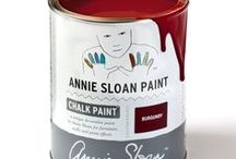 Burgundy / Inspiration using Chalk Paint® furniture paint by Annie Sloan in Burgundy.  Burgundy rich deep warm red in the Chalk Paint® palette. A rich deep warm red the colour of dark cherries, Burgundy finds its early inspiration in Pompeii. It also has a strong a strong neoclassical heritage, making it perfect for sophisticated painted furniture.
