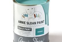 Provence / Inspiration using Chalk Paint® furniture paint by Annie Sloan in Provence.  Provence is a blue-green colour in the Chalk Paint® palette. The south of France has shutters and doors painted in a range of turquoise blue greens, some bright and some faded. Provence was inspired by these colours. It also works beautifully for a modern look.