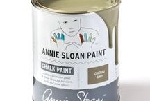 Chateau Grey / Inspiration using Chalk Paint® furniture paint by Annie Sloan in Château Grey. Château Grey is an elegant greyed green in the Chalk Paint® palette. This grey green is inspired by the colour created when decorative painters mixed all their leftover colours together to make a base paint. It is the traditional colour found in French woodwork.