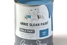 Greek Blue / Inspiration using Chalk Paint® furniture paint by Annie Sloan in Greek Blue.  Greek Blue is a Mediterranean blue in the Chalk Paint® palette. Throughout the Mediterranean, Greek Blue can be found on rustic doors, shutters and furniture often faded and distressed. It's also a colour that works well in a neoclassical interior deepened a little with dark wax.