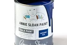 Napoleonic Blue / Inspiration using Chalk Paint® furniture paint by Annie Sloan in Napoleonic Blue.  Napoleonic Blue is a rich deep blue in the Chalk Paint® palette, inspired by the ultramarine and cobalt blue pigments used for decorative work in everything from neoclassical interiors through to modern 20th century decoration.