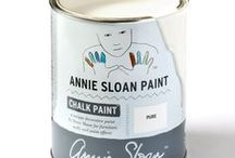 Pure / Inspirational pieces painted in Pure Chalk Paint® with Wall Paint and Coloured Linens.