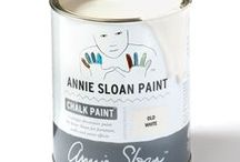 Old White / Inspiration using Chalk Paint® furniture paint by Annie Sloan in Old White.  Old White is a cool soft white in the Chalk Paint® palette. The colour of chalk and gesso, this is a cool soft white without pink or yellow in it. Old White works with everything but for the quintessential French look use it over Paris Grey. It can also be added to any of the other colours to lighten them and make them the exact tone for your room.