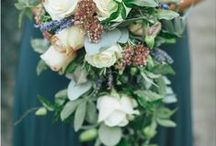 Bridesmaid Bouquets / As you plan your wedding flowers, think about what kind of bridesmaid bouquets you'd like to girls to walk down the aisle holding. Here are some of our favorite bouquets to inspire you.