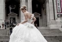 Ball Gown Wedding Dresses / Ball gown wedding dresses can make any bride feel like Cinderella on her big day! Here are some MODwedding favorites to inspire you for your dream wedding dress.