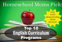 HomeSchool English / Visit me at http://www.renaissancemama.com!