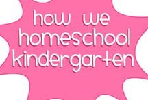 HomeSchool: Kindergarten / Homeschool Ideas for Kindergarten Contributors are welcome here. Please leave a comment on a pin to be invited. Visit me at http://www.renaissancemama.com!