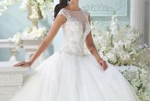 Mon Cheri Wedding Dresses / From stunning wedding dresses with intricate lace and exquisite beading to the most adorable flower dresses to gorgeous frocks for your loving mothers, get inspired by the 2016 Mon Cheri Bridals collections.  / by MODwedding