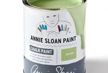 Lem Lem / Inspiration using Chalk Paint® furniture paint by Annie Sloan in Lem Lem.  Lem Lem is a limited-edition soft, warm green colour in the Chalk Paint® palette.