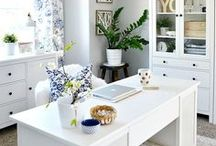 Home Office, Work and creative rooms / Great ideas for your home office, work and creative space. From Small to big rooms, this board have tons of ideas for your space.