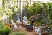 Living Outdoors / Backyard and Patios / Ideas for outdoor spaces, backyard and patios.