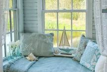 My Kind of Home Decor / I am crazy about both Shabby Chic and Beach Decor.  If they are combined, all the better.  I have redone my sunroom in this magical combination.